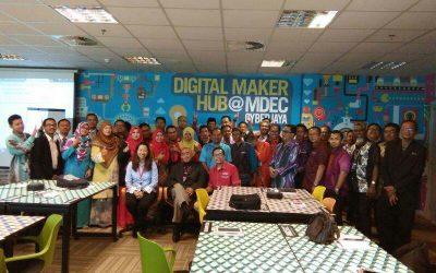 Satu Hari di Digital Maker Hub, Cyberjaya