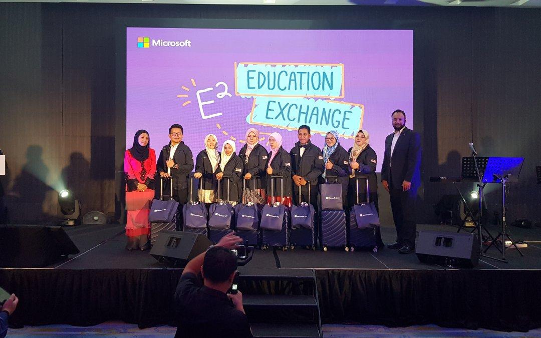 Tahniah Wakil Malaysia ke Microsoft E2