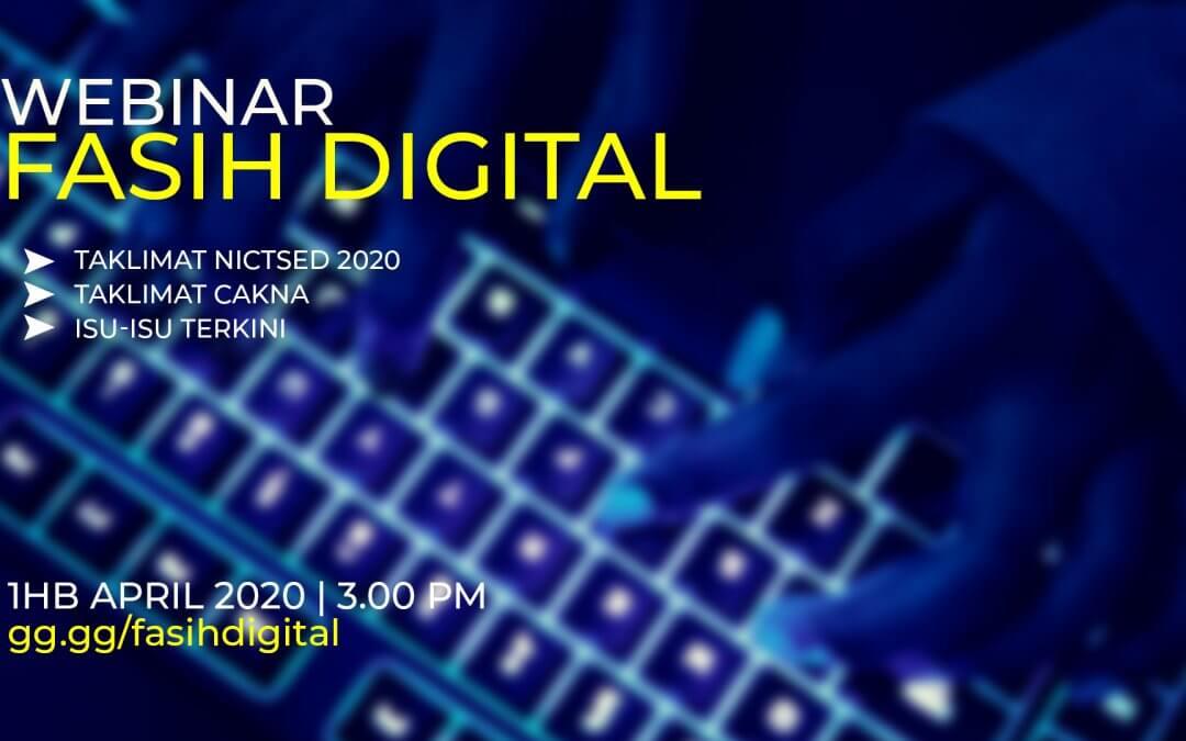 Webinar #fasihdigital