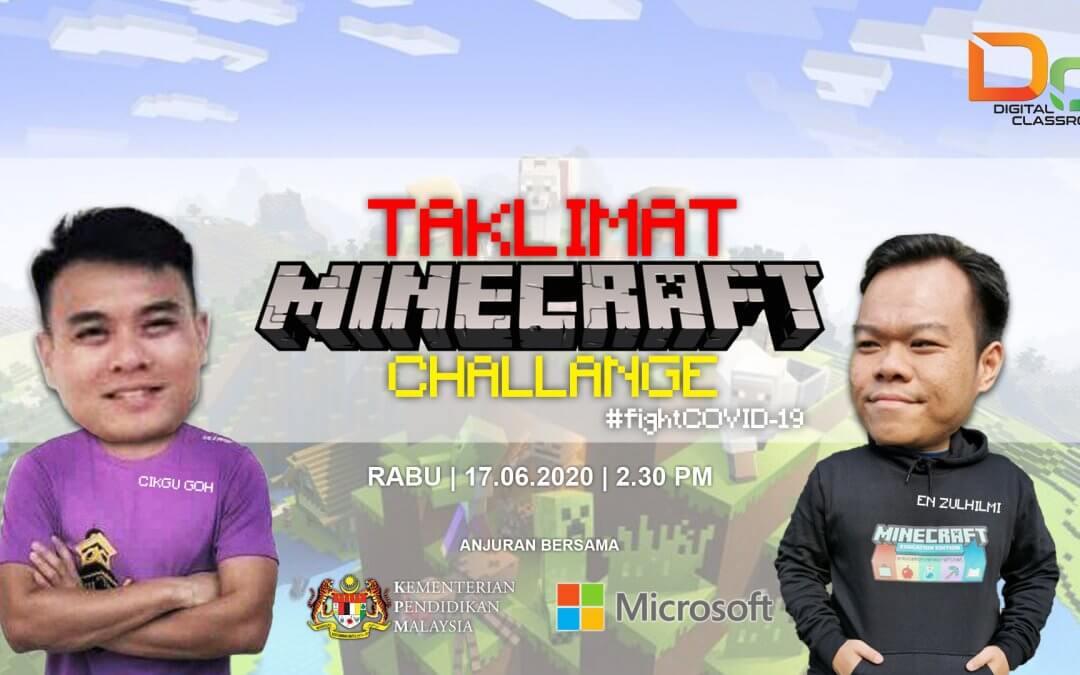 Taklimat Pertandingan Minecraft Edu Challenge KPM