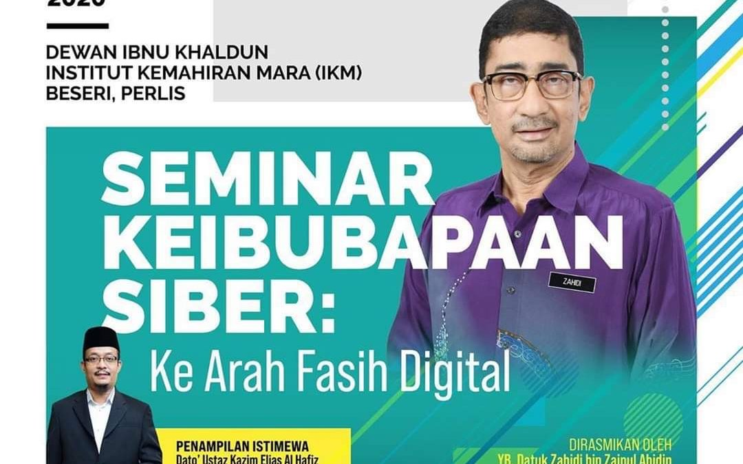 Live : Seminar Keibapaan Siber