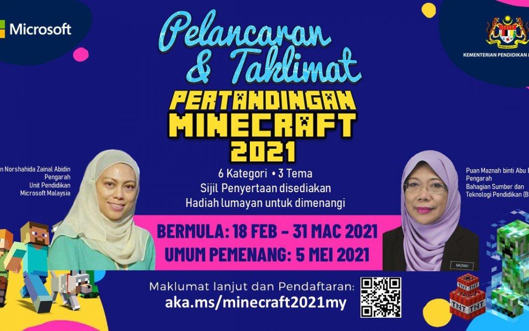 Pelancaran dan Taklimat Minecraft 2021