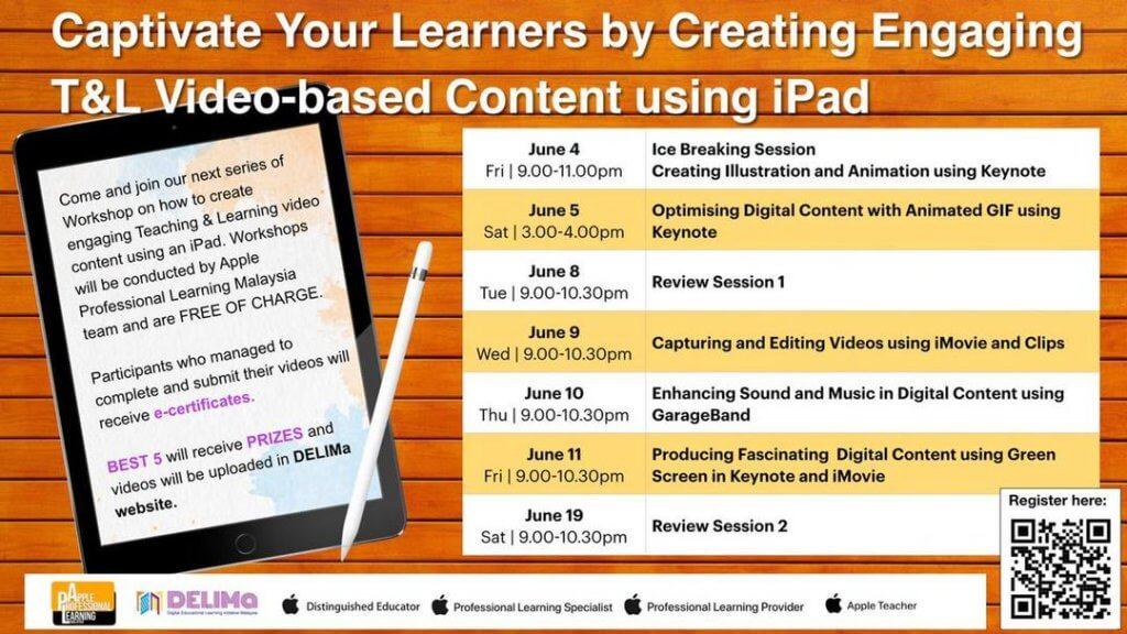 Apple iPad Workshop Musim Cuti Sekolah